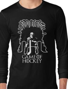 Game of Hockey - Game of Thrones Inspired Long Sleeve T-Shirt