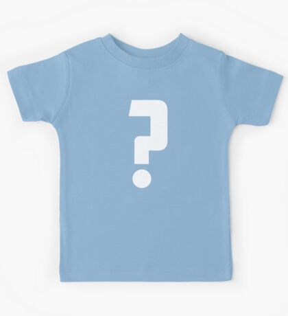 Question Mark - style 2 Kids Tee