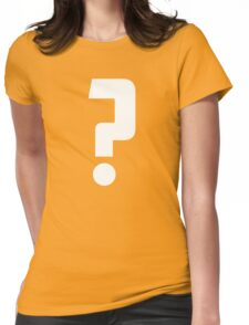 Question Mark - style 2 Womens Fitted T-Shirt