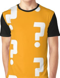 Question Mark - style 2 Graphic T-Shirt