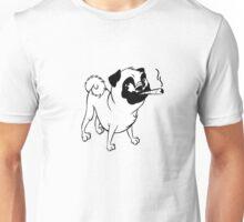 Smokin' Pug Unisex T-Shirt