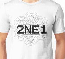 2NE1 - Black Unisex T-Shirt