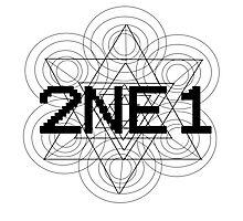 2NE1 - Black Photographic Print