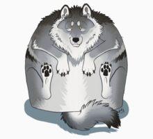Greywolf Squish by cloudstarwolf