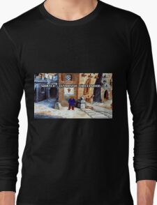 Wanted Guybrush Threepwood! (Monkey Island 2) Long Sleeve T-Shirt