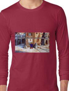 Wanted Guybrush Threepwood! (Monkey Island 2) Long Sleeve T-Shirt