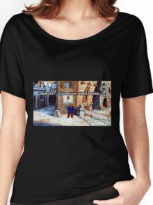 Wanted Guybrush Threepwood! (Monkey Island 2) Women's Relaxed Fit T-Shirt