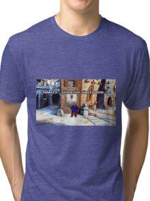 Wanted Guybrush Threepwood! (Monkey Island 2) Tri-blend T-Shirt