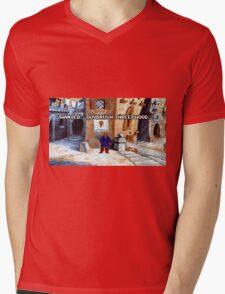 Wanted Guybrush Threepwood! (Monkey Island 2) Mens V-Neck T-Shirt