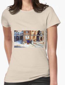 Wanted Guybrush Threepwood! (Monkey Island 2) Womens Fitted T-Shirt