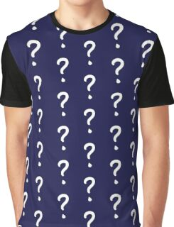 Question Mark - style 1 Graphic T-Shirt