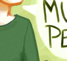 I like mushy peas - V2 Sticker