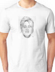 Jane Fonda's funny face Unisex T-Shirt