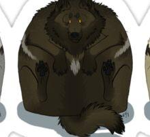 Wolfpack Squish Sticker