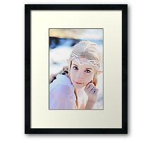 Galadriel, Lady of the Light Framed Print
