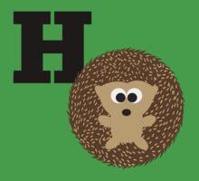 H is for Hedgehog Kids Tee