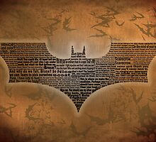 Batman Begins Typography - Movie Quotes by SkahfeeStudios