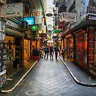 Centre Place, Melbourne by jamjarphotos