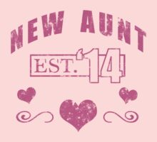 New Aunt 2014 (Grunge) T-Shirt by thepixelgarden
