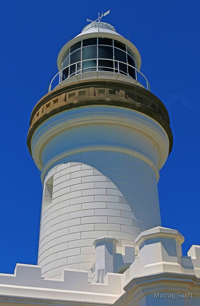Byron Bay Lighthouse by Murray Swift