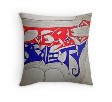 Altered Reality Throw Pillow