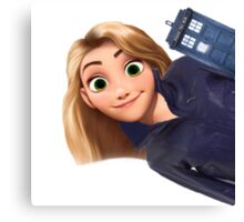 Rose Tyler x Disney Canvas Print