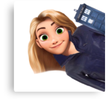Rose Tyler x Disney Canvas Print