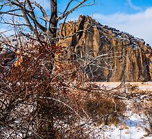 Smith Rock in the snow by rkboz