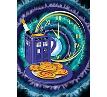 Doctor Who Tea Time! Photographic Print