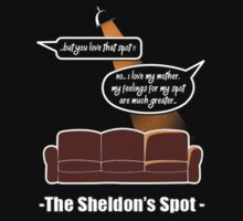 Big Bang Theory feelings for my spot by shahidk4u