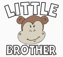 Little Brother Monkey Kids Tee