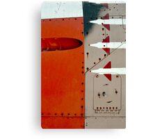 Orange Panel Canvas Print
