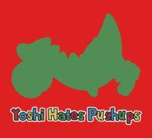 Yoshi Hates Pushups Kids Clothes