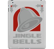 Jingle Bells - Silver iPad Case/Skin