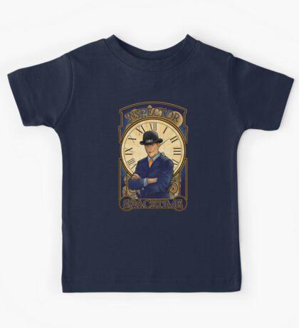 Inspector Spacetime Nouveau Kids Tee