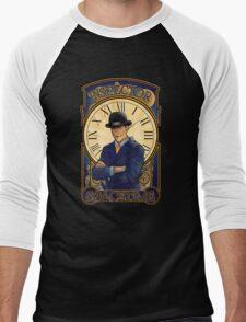 Inspector Spacetime Nouveau Men's Baseball ¾ T-Shirt