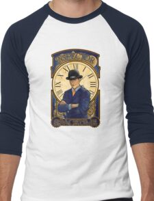 Inspector Spacetime Nouveau Men's Baseball ¾ T-Shirt