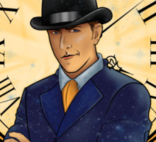 Inspector Spacetime Nouveau Sticker