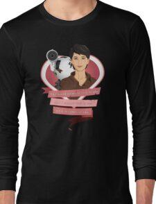 I Choose Curie Long Sleeve T-Shirt