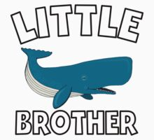 Little Brother Whale Kids Tee