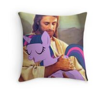 Brony Jesus Throw Pillow