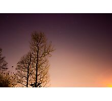 Light Across The Sky Photographic Print