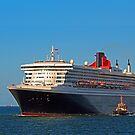 Queen Mary 2 - Fremantle Western Australia  by EOS20