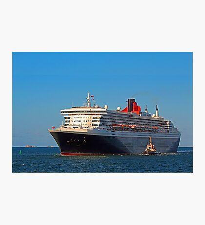 Queen Mary 2 - Fremantle Western Australia  Photographic Print