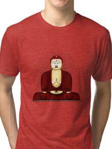 Buddha in praying Tri-blend T-Shirt