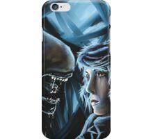 Alien Encounter iPhone Case/Skin