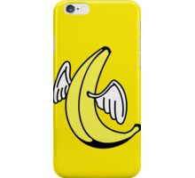 Flying Banana with Angel-Wings iPhone Case/Skin