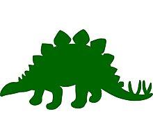 Stegosaurus Photographic Print