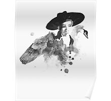 shinee onew - swan Poster