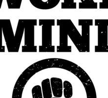 Woke Feminist Sticker